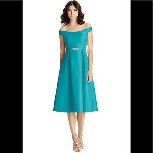 NWOT JENNY PACKHAM Mikado Dress SAMPLE 12